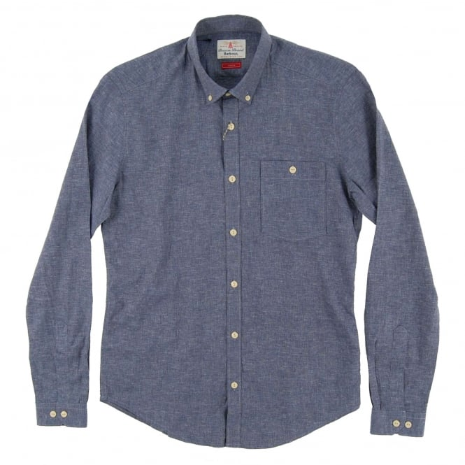 Barbour Brian Shirt Indigo