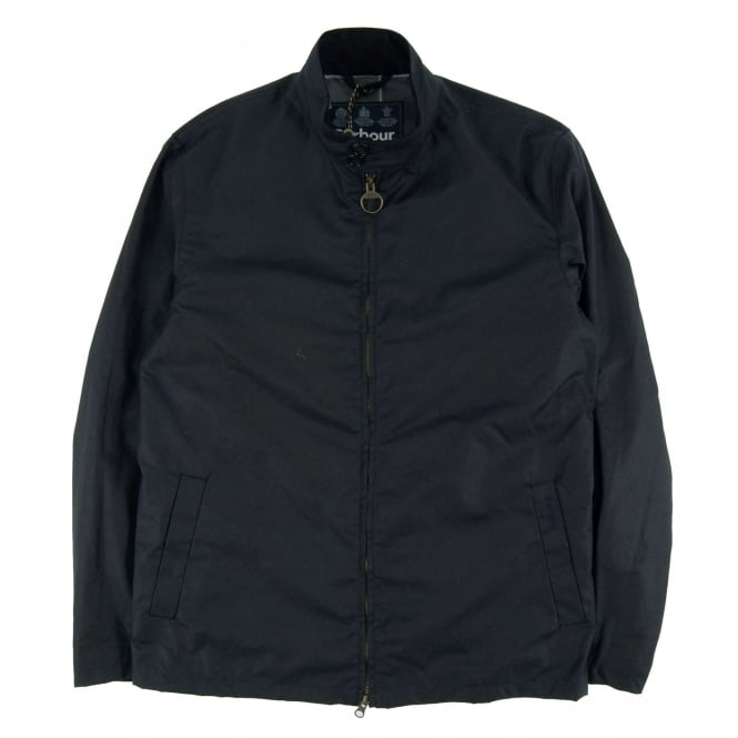 Barbour Brompton Wax Jacket Navy