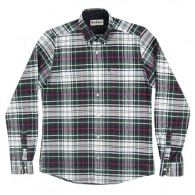 Castlebay Tailored Check Shirt White