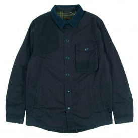 Clough Overshirt City Navy