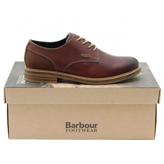 Barbour Cottam Derby Dark Brown