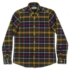 Dawson Tailored Check Shirt Classic Tartan