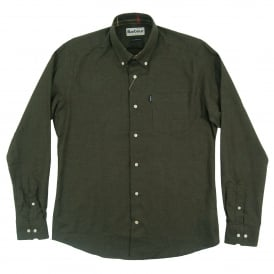 Don Tailored Shirt Dark Olive