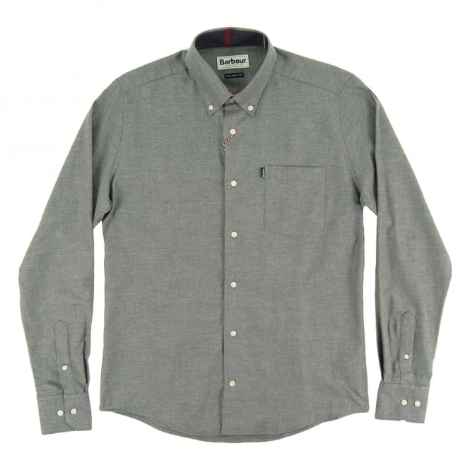 Barbour Don Tailored Shirt Grey Marl