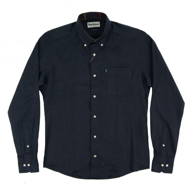 Barbour Don Tailored Shirt Navy