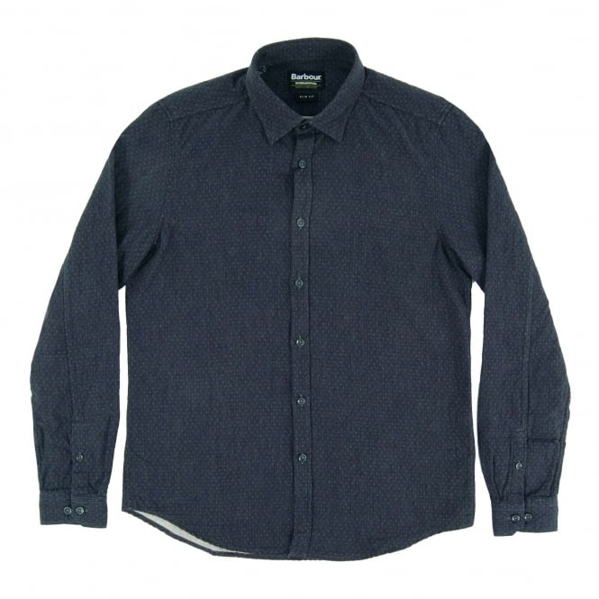 Barbour International Dott Shirt Navy