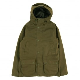 Downpour Hooded Waterproof Jacket Clay