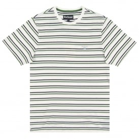 Duxford Stripe T-Shirt White