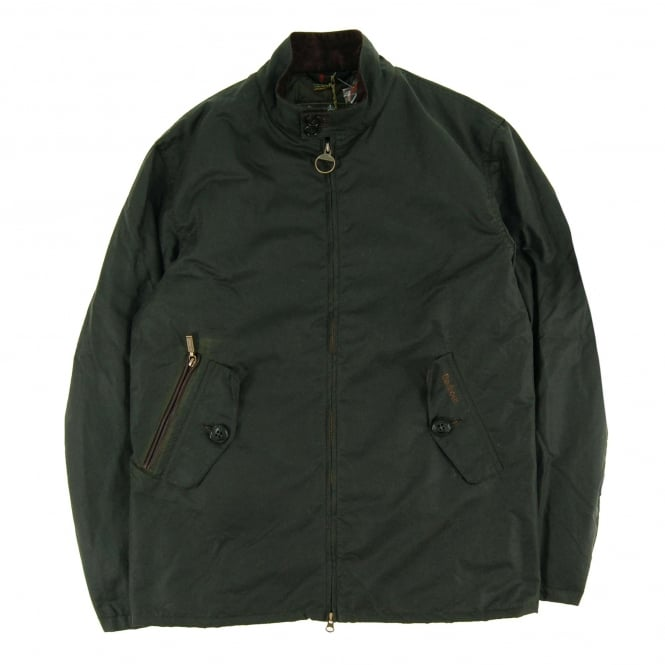 Barbour Elgin Wax Jacket Sage