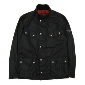 Enfield 4oz Wax Jacket Black