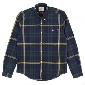 Fardale Check Shirt Forest Green