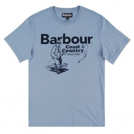 Fisherman T-Shirt Admiral Blue