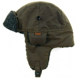 Fleece Lined Hunter Hat Olive