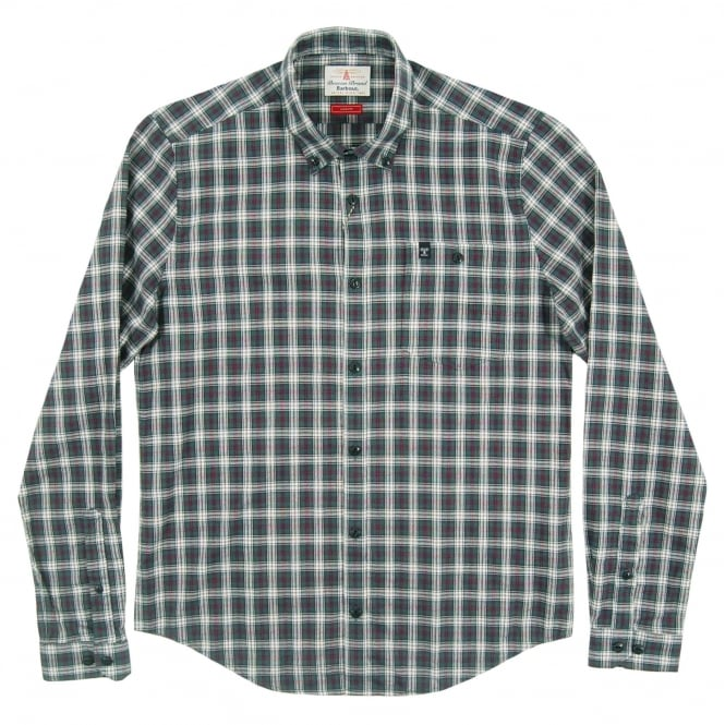 Barbour Fletcher Check Shirt Forest
