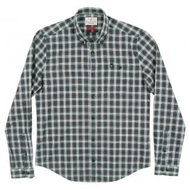 Fletcher Check Shirt Forest