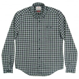 Fletcher Check Shirt Green