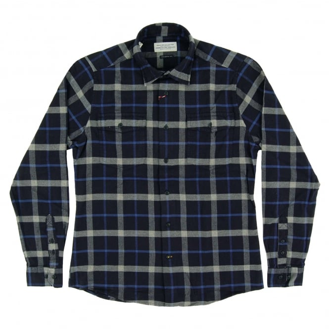 Barbour Forestay Check Shirt Navy