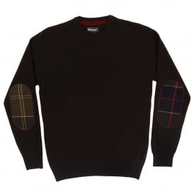 Harrow Crew Jumper Dark Brown