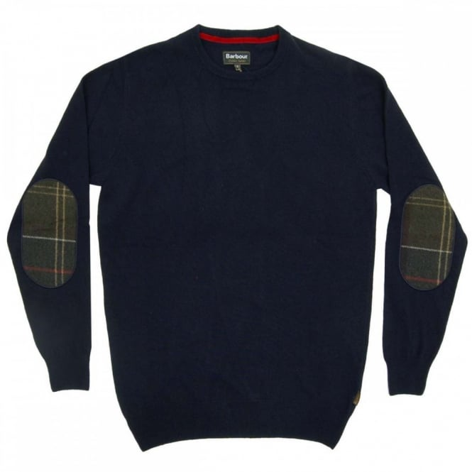 Barbour Harrow Crew Jumper Dark Navy