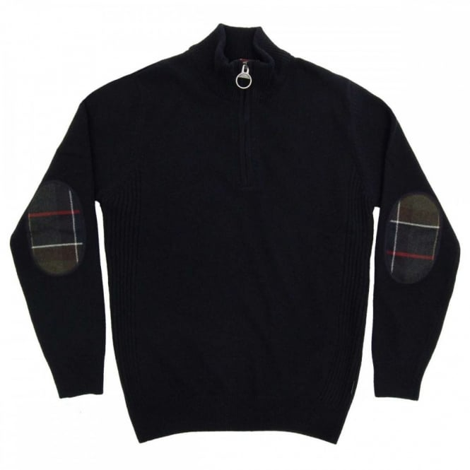 Barbour Holden Half Zip Jumper Navy