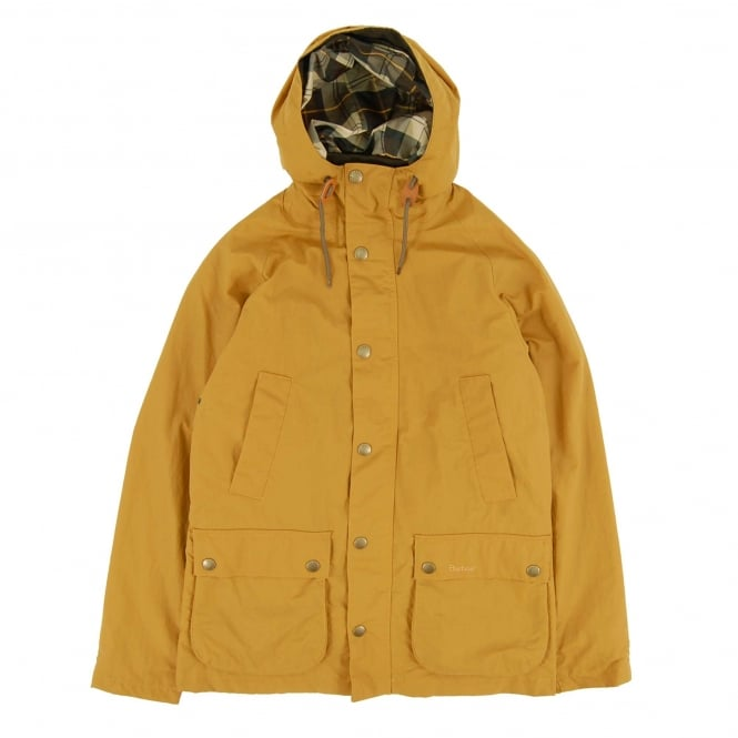 Barbour Hooded Bedale Jacket Yellow