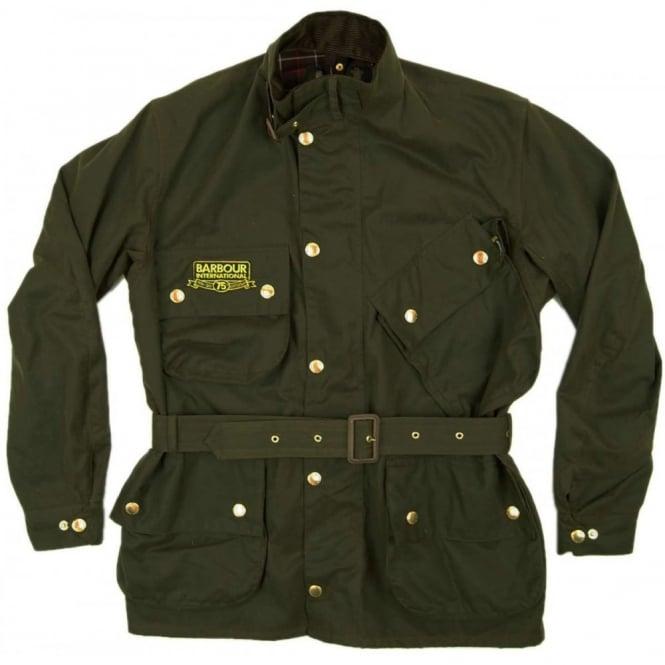 f70ef97fae Barbour International International 75th Jacket Olive - Mens ...
