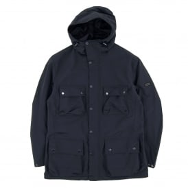 Drag Packaway Waterproof Jacket Navy