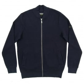 Grip Zip Thru Sweat Navy