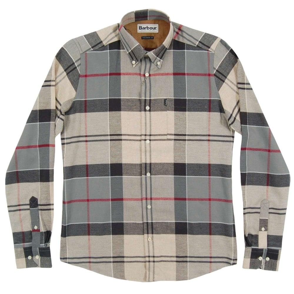 96336f2ad5a0e Barbour John Tailored Check Shirt Dress Tartan