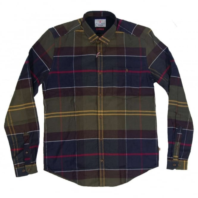 Barbour Johnny Check Shirt Classic Tartan