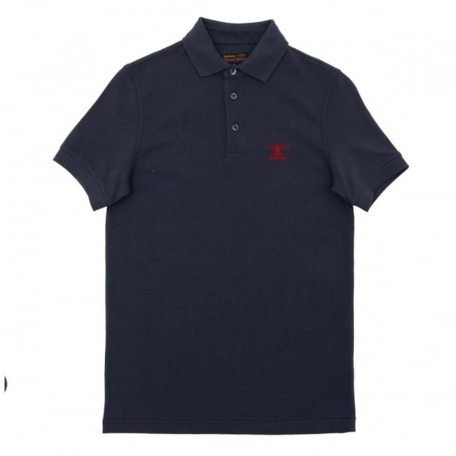 Barbour Joshua Polo Navy