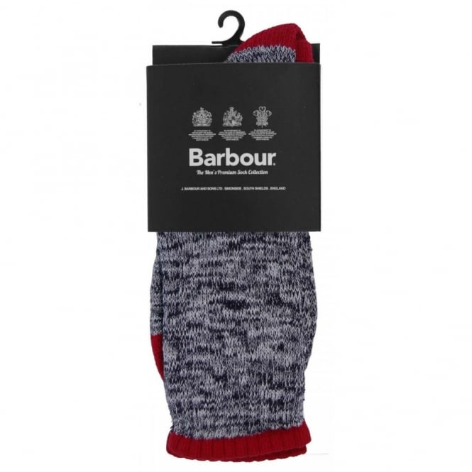 Barbour Kendal Socks Navy