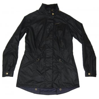 Barbour Ladies Badminton Jacket Navy Womens Jackets From