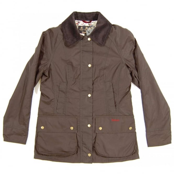 Barbour Ladies Flyweight Liberty Beadnell Jacket Olive