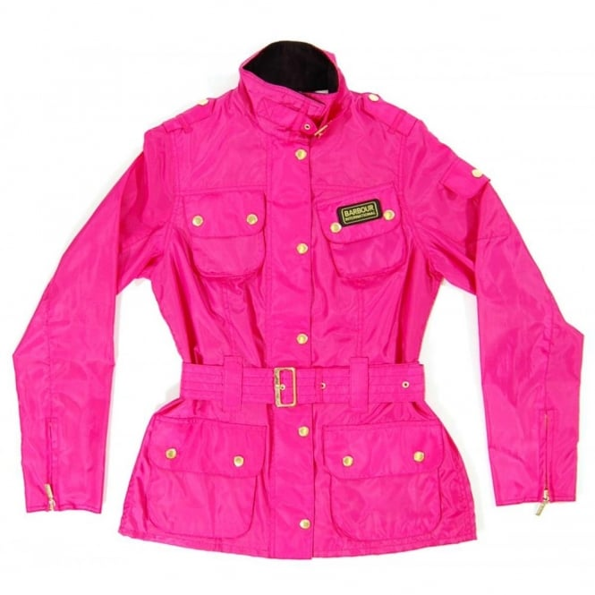 Pink Barbour International Jacket
