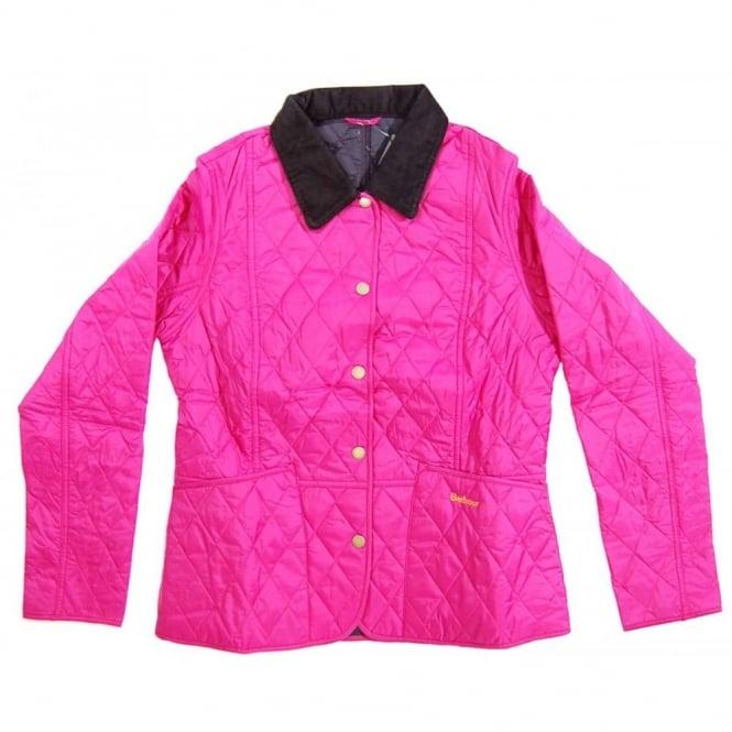 Barbour Ladies Summer Liddesdale Quilt Jacket Pink - Womens ...
