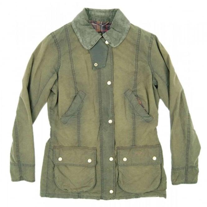 Barbour Ladies Vintage Beadnell Jacket Olive