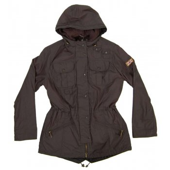 Barbour Ladies Winter Force Parka Charcoal
