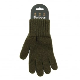 Lambswool Gloves Olive