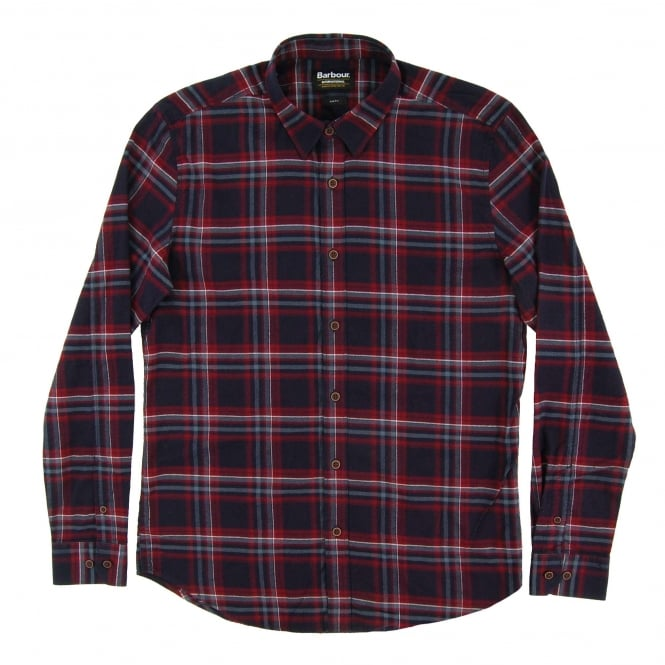 Barbour International Lane Check Shirt Ruby