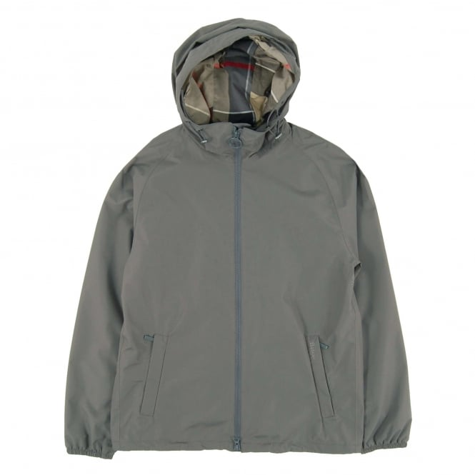 Barbour Langley Waterproof Jacket Grey
