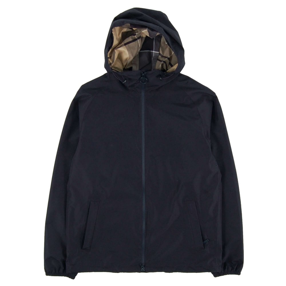 Barbour Langley Waterproof Jacket Navy Mens Clothing
