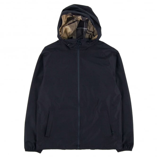 Barbour Langley Waterproof Jacket Navy