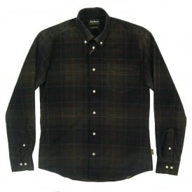 Lawerence Tailored Check Cord Shirt Classic Tartan