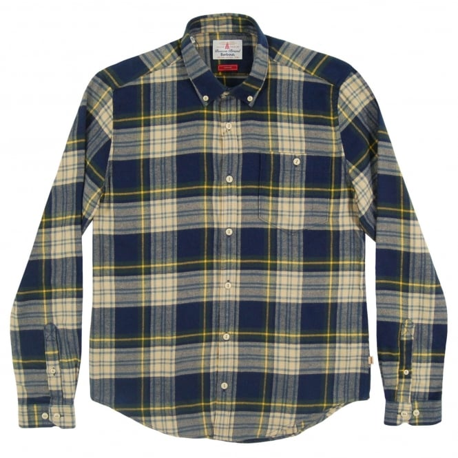 Barbour Leith Check Shirt Forest