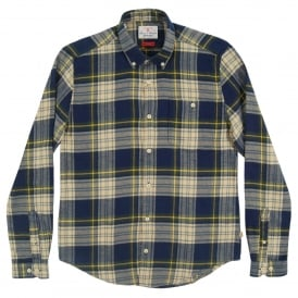 Leith Check Shirt Forest