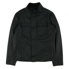 Lock Wax Jacket Black