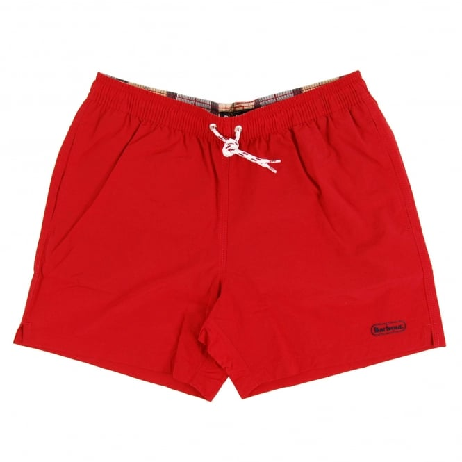Barbour Lomond Swim Short Red