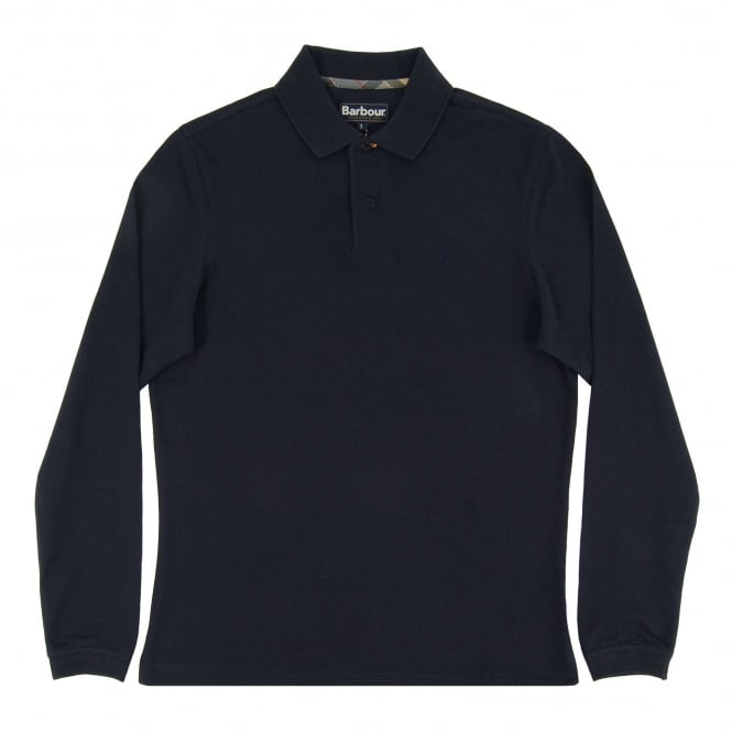 Barbour LS Sport Polo Navy
