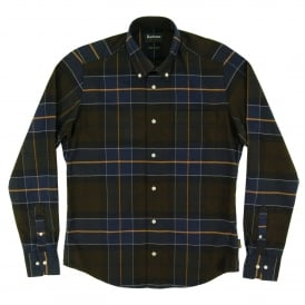 Lustleigh Tailored Check Shirt Forest
